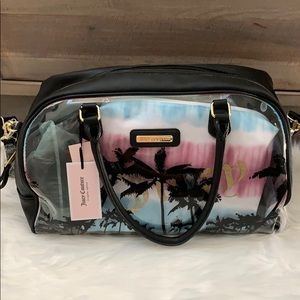 Juicy couture crystal clear weekender